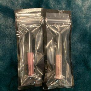 MAC lipglass 2pk travel size NWT